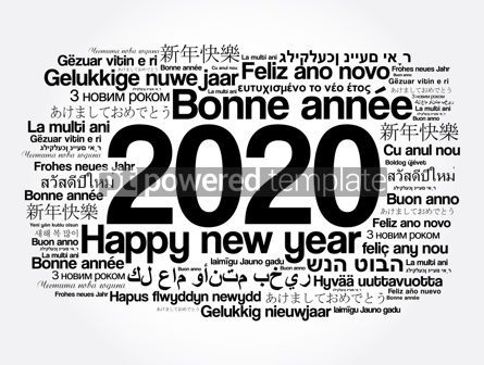 Business: 2020 Happy New Year in different languages #12066