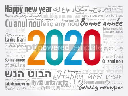 Business: 2020 Happy New Year in different languages #12068