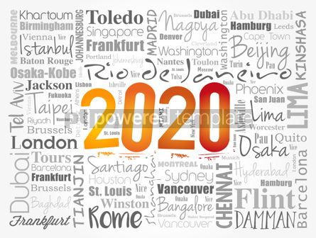Business: 2020 travel cities word cloud collage #12086