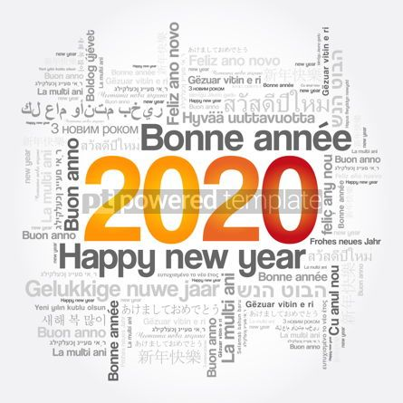 Education: 2020 Happy New Year in different languages #12105