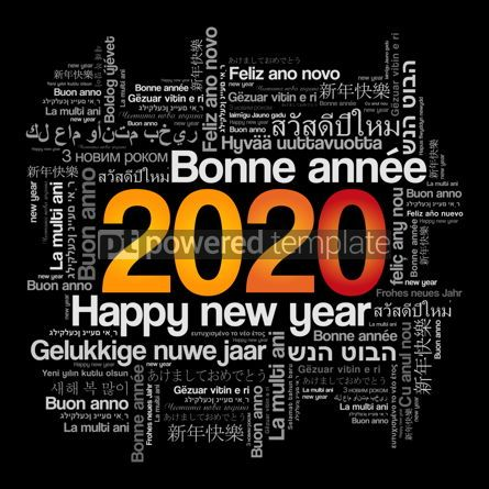 Education: 2020 Happy New Year in different languages #12106