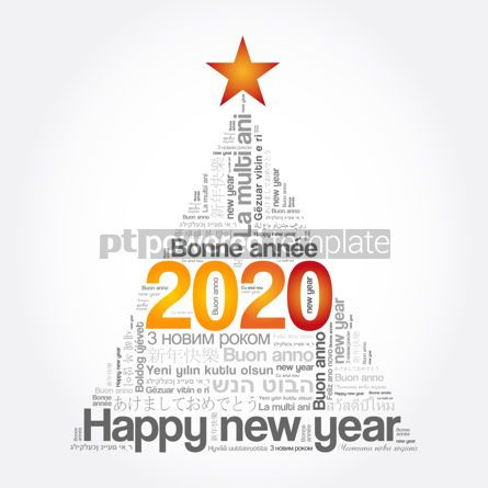 Education: 2020 Happy New Year in different languages #12108