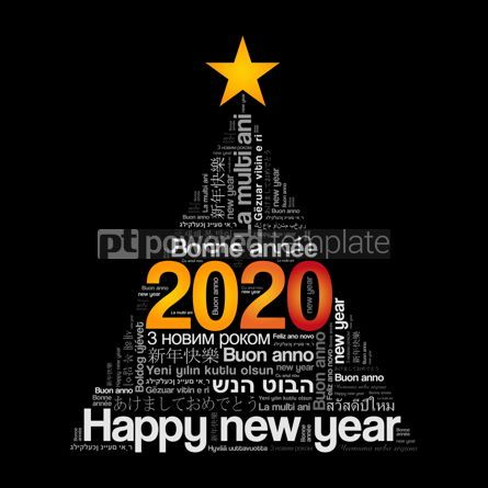 Education: 2020 Happy New Year in different languages #12109