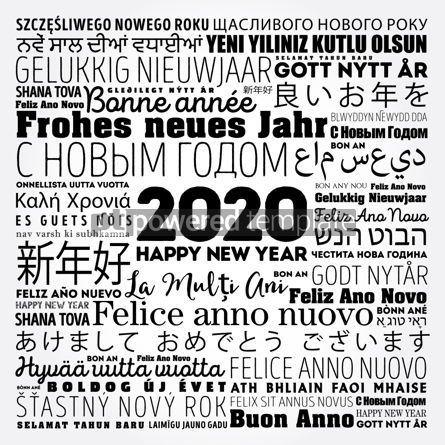 Business: 2020 Happy New Year in different languages #12149