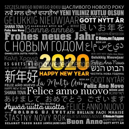 Business: 2020 Happy New Year in different languages #12151