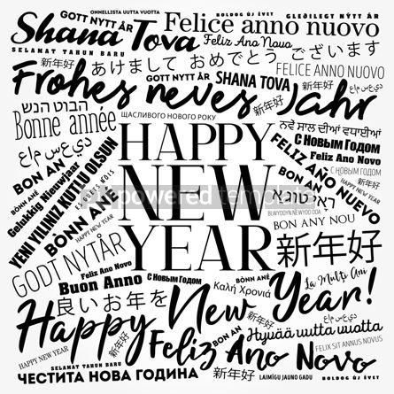 Business: 2020 Happy New Year in different languages #12192