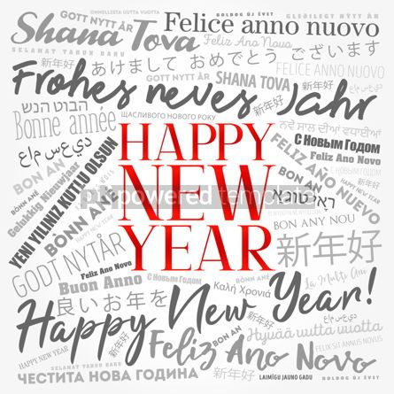 Business: 2020 Happy New Year in different languages #12193