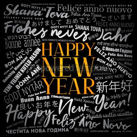 Business: 2020 Happy New Year in different languages #12194