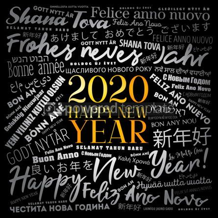 Business: 2020 Happy New Year in different languages #12204