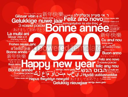 Business: 2020 Happy New Year in different languages #12206
