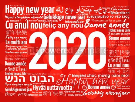 Business: 2020 Happy New Year in different languages #12207