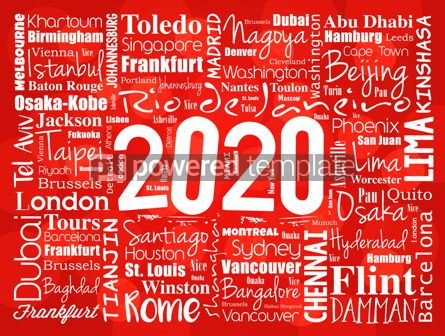 Business: 2020 travel cities word cloud collage #12211