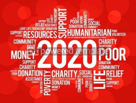 Business: 2020 help word cloud collage concept #12227