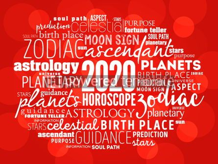 Business: Your 2020 HOROSCOPE word cloud collage #12230