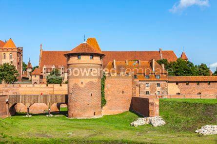 Architecture : Malbork castle in Pomerania region of Poland #12248