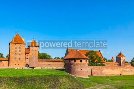 Architecture : Malbork castle in Pomerania region of Poland #12249