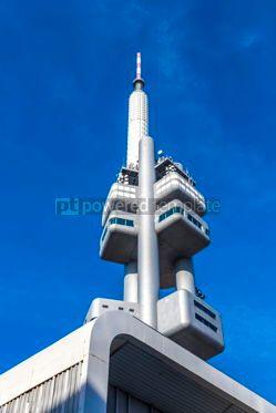 Architecture : Zizkov Television Tower in Prague Czech Republic #12258