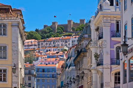 Architecture : Historical centre of Lisbon city Portugal #12300