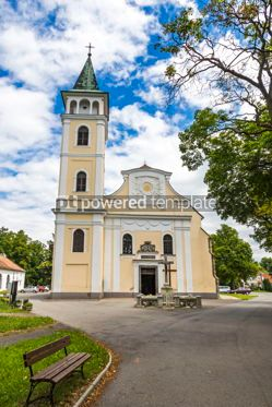 Architecture : Church of the Birth of Our Lady in Michalovce Slovakia #12306