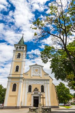 Architecture : Church of the Birth of Our Lady in Michalovce Slovakia #12307