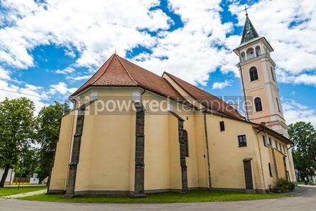 Architecture : Church of the Birth of Our Lady in Michalovce Slovakia #12308
