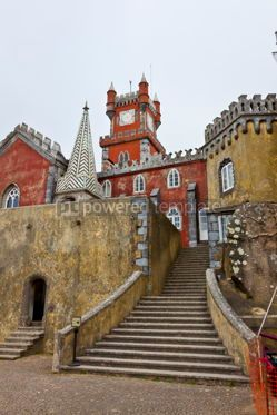 Architecture :  Pena National Palace in Sintra Lisbon Portugal #12311