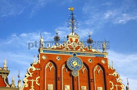 Architecture : House of the Blackheads in Riga Latvia #12312