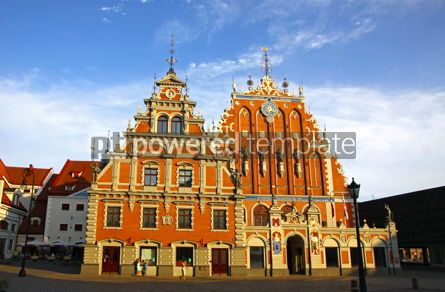 Architecture : House of the Blackheads in Riga Latvia #12314