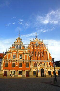 Architecture : House of the Blackheads in Riga Latvia #12315