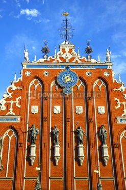 Architecture : House of the Blackheads in Riga Latvia #12316