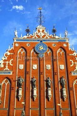 Architecture : House of the Blackheads in Riga Latvia #12316