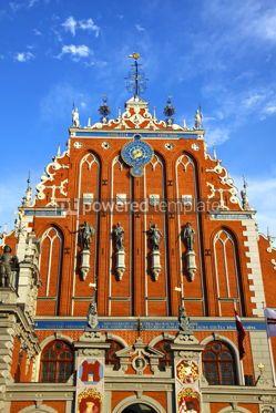 Architecture : House of the Blackheads in Riga Latvia #12317