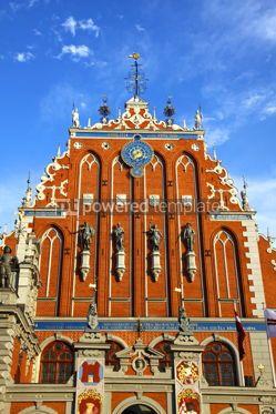Architecture : House of the Blackheads in Riga Latvia #12317