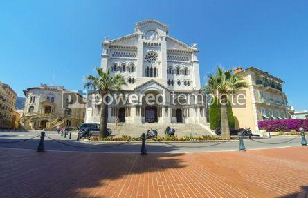 Architecture: Monaco Cathedral in Monaco-city Principality of Monaco #12321