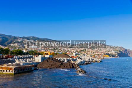 Nature: Funchal city and Atlantic ocean Madeira island Portugal #12324