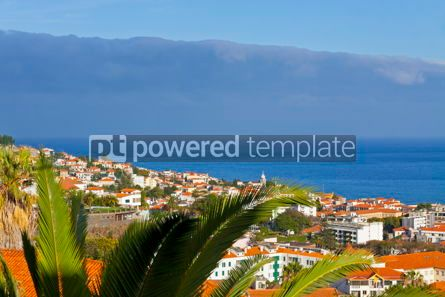 Nature: Scenic view of buildings in Funchal city Madeira island Portug #12330