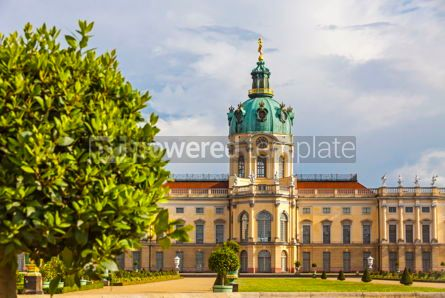 Architecture : Charlottenburg Palace in Berlin Germany #12369