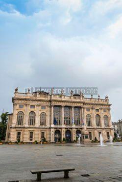 Architecture : Royal Palace (Palazzo Madama) in Turin Italy #12381