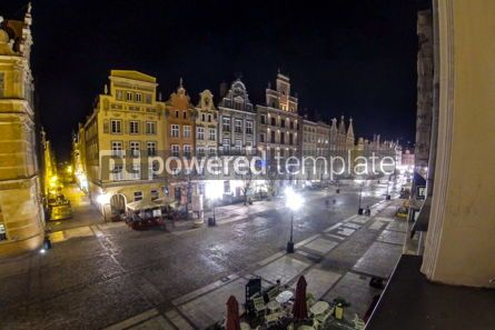 Architecture : Long Market street (Dlugi Targ) in Gdansk Poland #12387