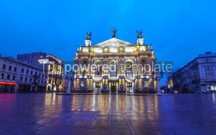 Architecture : Lviv National Academic Theater of Opera and Ballet Ukraine #12388