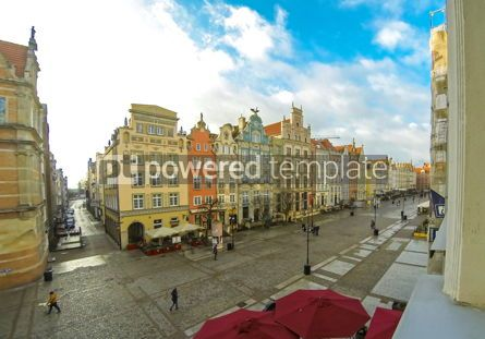 Architecture : Long Market street (Dlugi Targ) in Gdansk Poland #12390