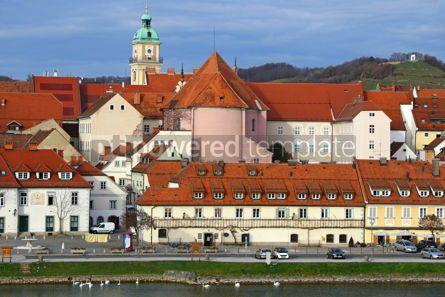 Architecture: Old Vine House building in Maribor city Slovenia #12394