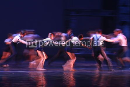 Arts & Entertainment: Dancers perform on stage #12399