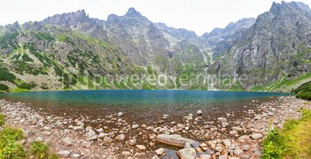 Nature: Czarny Staw pod Rysami lake Tatra Mountains Poland #12404