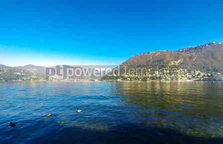 Nature: Landscape with Lake Como Lombardy Italy #12406