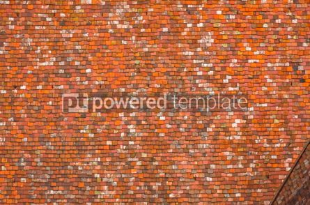Abstract: Background made of red roof tiles #12410