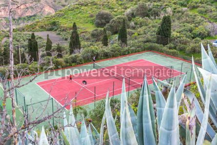 Sports: Tennis courts #12418