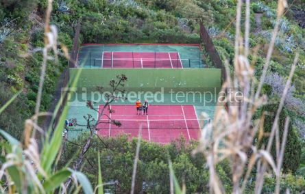 Sports: Tennis courts #12419