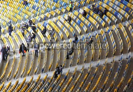 Sports : Tribunes of the stadium #12427