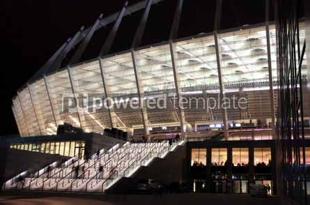 Sports : Exterior of the NSC Olympiyskyi stadium in Kyiv Ukraine #12428